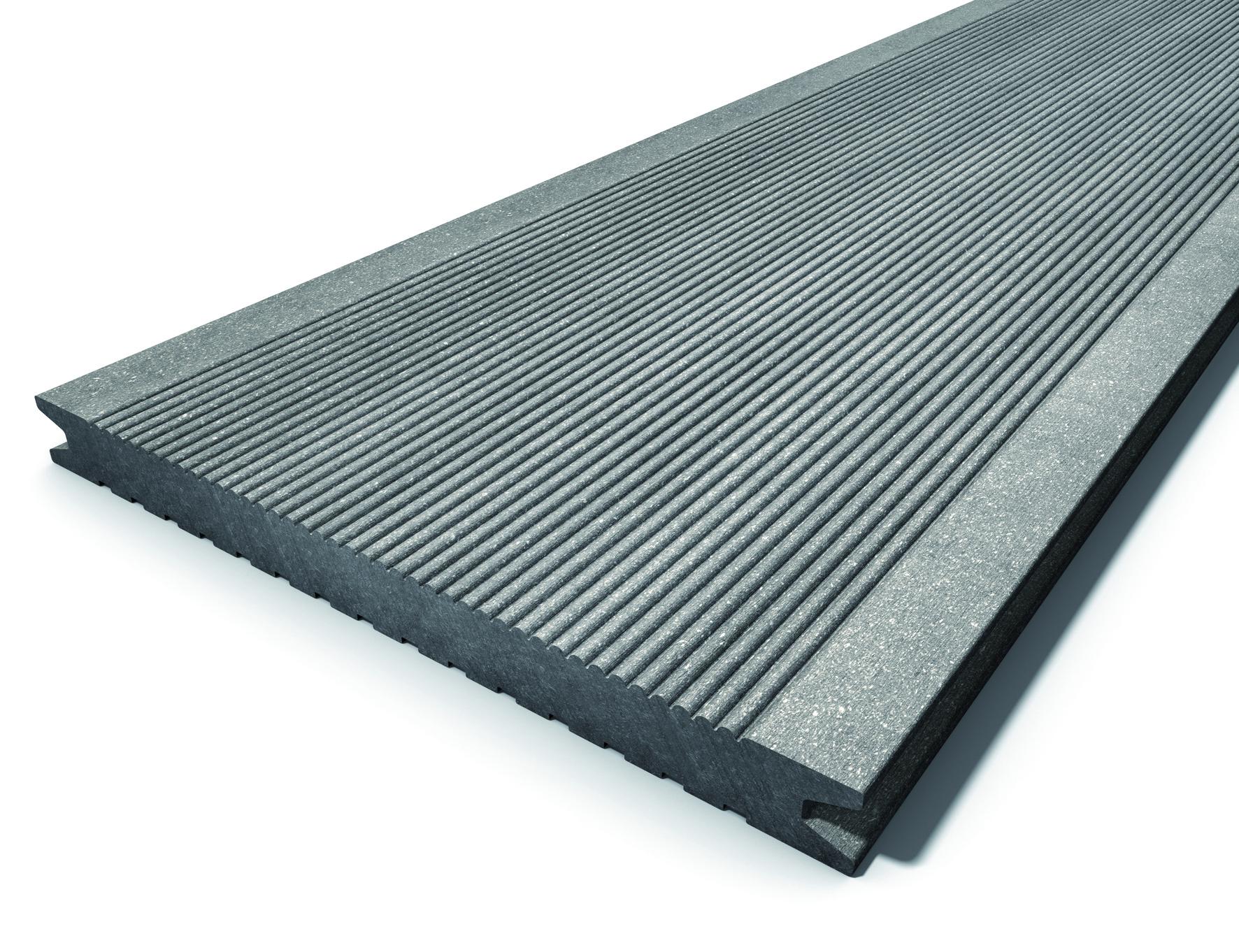 megawood wpc barfu diele classic jumbo basaltgrau ihr. Black Bedroom Furniture Sets. Home Design Ideas