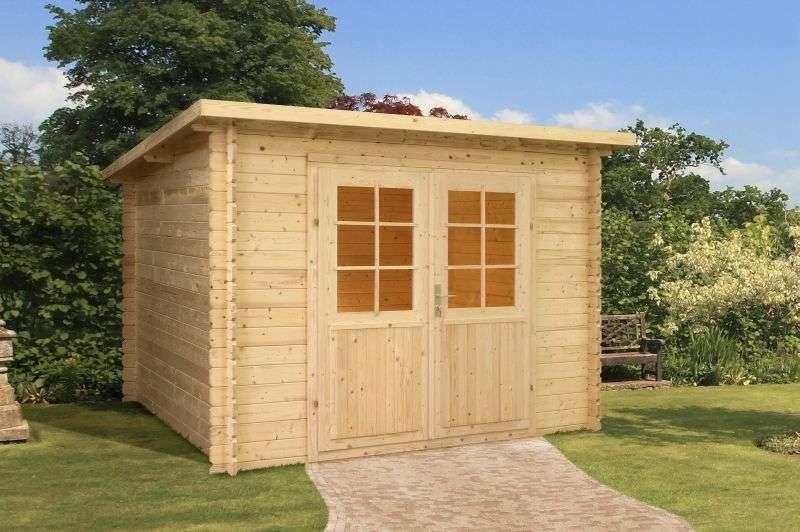 MrGardener Gartenhaus Malta 2, 28 mm | Ihr Holzshop.de