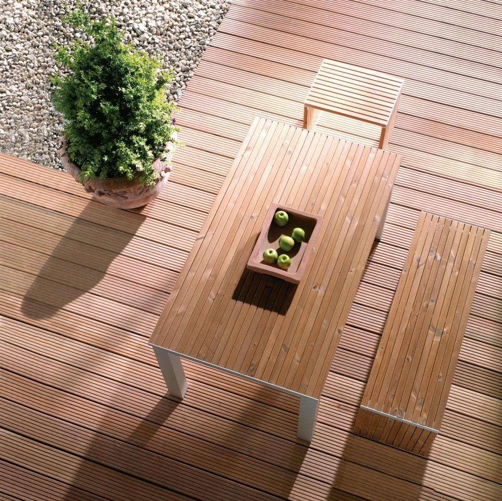 Favorit Osmo Terrassendiele Bangkirai 38 x 145 mm genutet/glatt | Ihr CS48