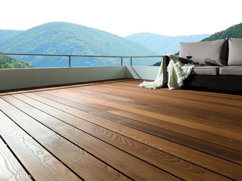 Osmo Thermoesche Terrassendiele Einheimisches Holz