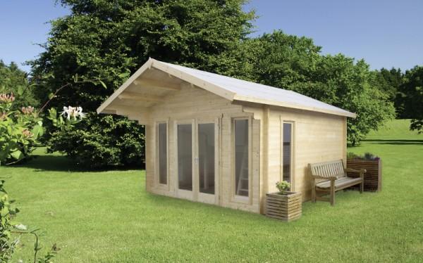 Holz-Gartenhaus-Satteldach
