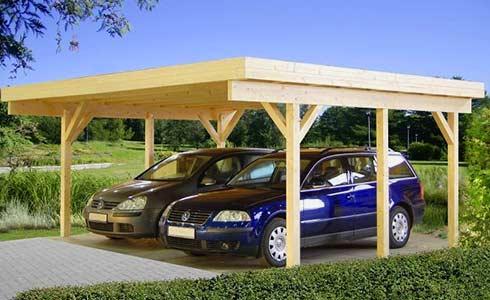 Holz Carport günstig kaufen | Ihr-Holzshop.de